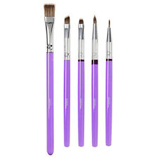 Wilton Deluxe Cake Decorating Brush Set - Purple  Brand New Version