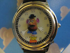 "Disney 1996 Fossil ""Mr Potato Head"" Toy Story Limited Edition watch lunchbox"