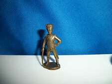 1814 PRUSSIAN ARMY Cavalry SWORD RITTMEISTER Brass Figurine Kinder Metal Soldier