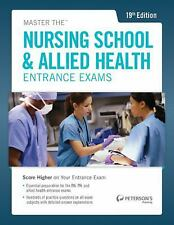 Master the Nursing School and Allied Health Exams by Peterson's Publishing Staf…