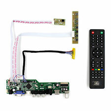 TV HDMI VGA AV USB AUDIO LCD controller Board for 10inch HSD100IFW1 1024x600 lcd