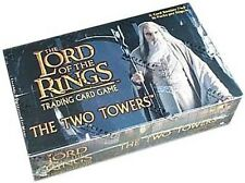 LOTR TCG DECIPHER : THE TWO TOWERS BOOSTER BOX NEW SEALED