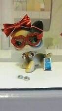 Littlest pet shop accessories GLASSES BOW COLLAR PHONE Earrings NO LPS Lot of 5