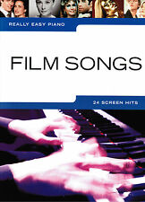 Klavier Noten : Film Songs (Really Easy Piano ) 24 Titel leicht - leiMittelstufe