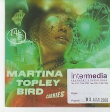 (EB563) Martina Topley-Bird, Carnies - 2008 DJ CD