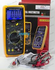 HTC DM 91 3½ Digital Multimeter Capacitance Frequency Temp Inter lockingTerminal