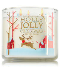 Bath & Body Works Holly Jolly Christmas 14.5 Ounces Scented Candle Retail $22.50