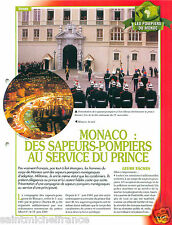 Equipments Materials Firefighting Principauté Monaco Pompier FICHE FIREFIGHTER