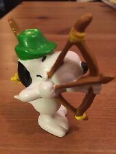 Snoopy Peanuts Rubber Robin Hood Collectable Rare Vintage Classic