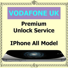 Vodafone UK PREMIUM Factory Unlock Service iPhone 4s 5 5c 5s 6 6+ 6s 6s+ SE