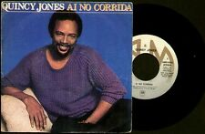 "QUINCY JONES - Ai No Corrida / There's A Train Leavin' - SPAIN SG 7"" AM 1981"