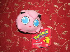 Nintendo Pokemon Quick Change Plush Pokeball Jigglypuff #39 New w Tag NWT 1999 A