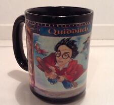 Harry Potter and the Sorcerer's Stone Quidditch Coffee Cup Mug Rare