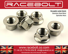 Triumph 1050 Tiger 06-12 Rear Sprocket Nut Kit - Racebolt Stainless Steel