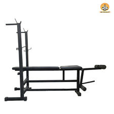 6 IN 1 BENCH WEIGHT LIFTING (BLACK)