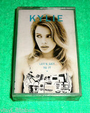 PHILIPPINES:KYLIE MINOGUE - Let's Get To It,Cassette,RARE,SEALED,NEW OLD STOCK