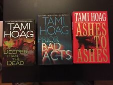 Three Tami Hoag Hardcover Novels