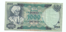 Indonesia 1000rp  Banknote 1975 VF