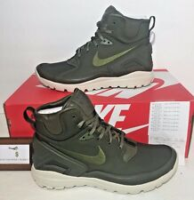 NIKE MENS SIZE 9.5 NIKELAB KOTH ULTRA MID SI STONE ISLAND ARMY GREEN BOOTS NEW