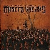 Misery Speaks - Catalogue of Carnage (2008)  CD  NEW/SEALED  SPEEDYPOST