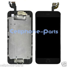 iPhone 6 LCD Screen Display with Digitizer, Bezel Frame Home Key & Camera Black