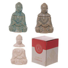 Ceramic Thai Buddha Oil Burner - 3 Assorted