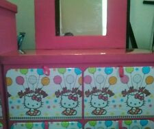 twin size hello kitty bedroom set