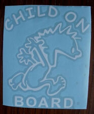Child on Board Baby Safety Vinyl Window Decal