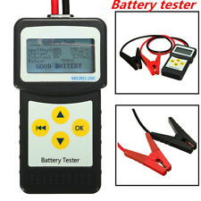 12V LCD Digital Car Battery Tester Auto Battery Load Analyzer Test Tool AGM CCA
