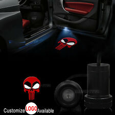2x Car Door X-men Deadpool Punisher Logo LED Laser Projector Ghost Shadow Light