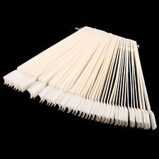 False Display Nail Art Fan Wheel Polish Practice Tip Sticks Nail Art 50pcs XC