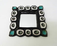 Vallauris les ARGONAUTES - miroir céramique 60' Vintage mirror