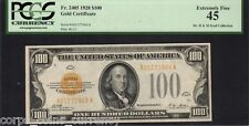 Fr 2405 $100 Gold Certificate (Syed Collection) X-Fine