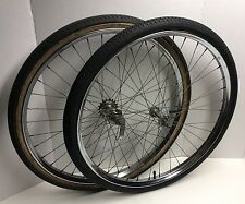 "1960s Vintage Bicycle Drop Center 26"" Wheels Western Flyer Sears Bike"