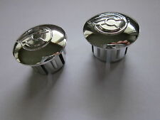 NOS CINELLI HANDLEBAR HANDLE BAR END PLUGS CAPS CHROME