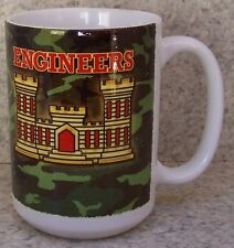 Coffee Mug Military Army Corps of Engineers NEW 14 ounce cup with gift box