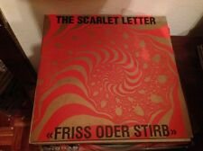 "SCARLET LETTER - FRISS ODER STIRB 12"" LP GERMAN GOTH ROCK DARKWAVE"