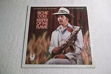 RICHIE COLE - Keeper Of The Flame - LP MUSE 5192 Shrink - 1979 - Jazz Alto Sax
