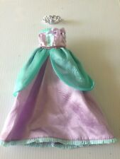 "GROOVY GIRLS DOLL PLUSH 13"" Dreamtastic Princess Gown Tiara MANHATTAN TOY outfit"