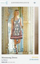 SOLD OUT! ANTHROPOLOGIE MOONSONG Dress by MAEVE size 6 NEW NWT