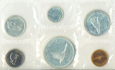 Canada 1867-1967 Proof Like PL Uncirculated Coin Set Envelope 1.1 OZ Pure Silver