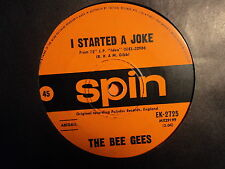 "Bee Gees ""I Started A Joke"" Classic Hit SPIN Oz 7"""