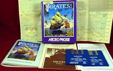Amiga: Sid Meier 's Pirates! - MicroProse 1989 con embalaje original, manual y mapa