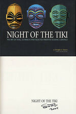 Shag SIGNED AUTOGRAPHED Night of the Tiki HC 1st Ed Josh Agle Tiki Beatniks