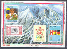 Olympiade 1988, Olympic Games - Bolivien - Bl.173 ** MNH