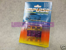 3 Pack of Impulse 200 amp Mini ANL / mini AFS Fuse / Fuses