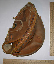 MARKWORT CATCHERS MITT C-203  LEATHER WITH RAWHIDE LACING