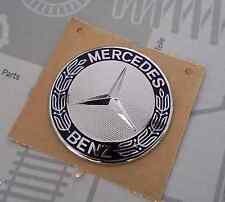 Badge 57mm Mercedes classe A B C E ML SLK CLK Bonnet wheel Genuine Jante Capot