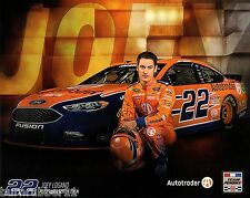 "2016 JOEY LOGANO ""AUTOTRADER BRISTOL TEAM PENSKE"" #22 NASCAR SPRINT CUP POSTCARD"