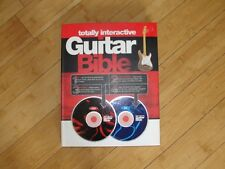 Totally Interactive GUITAR BIBLE (Method/Instruction/cd/dvd)